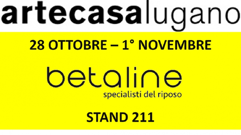 Betaline ad Artecasa 2020, stand 211